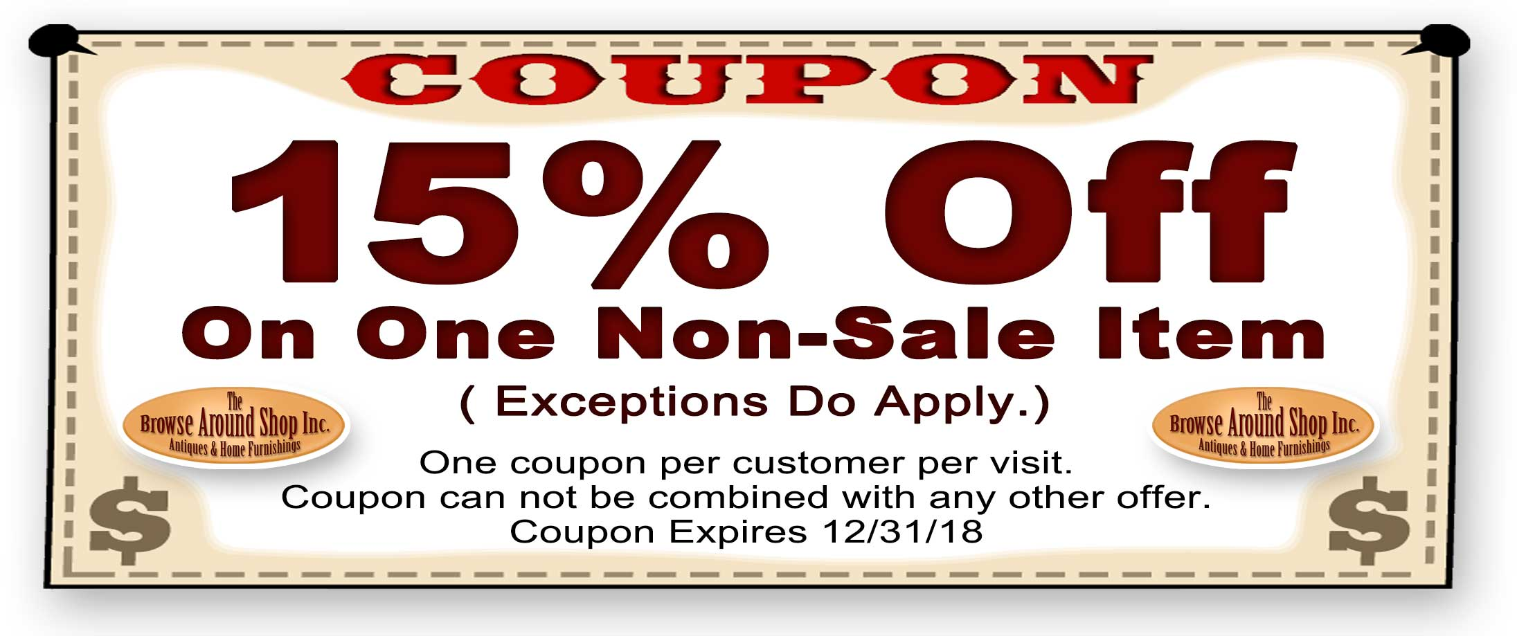 Browse Around Antique Home Furnishings Shop Online Catalog
